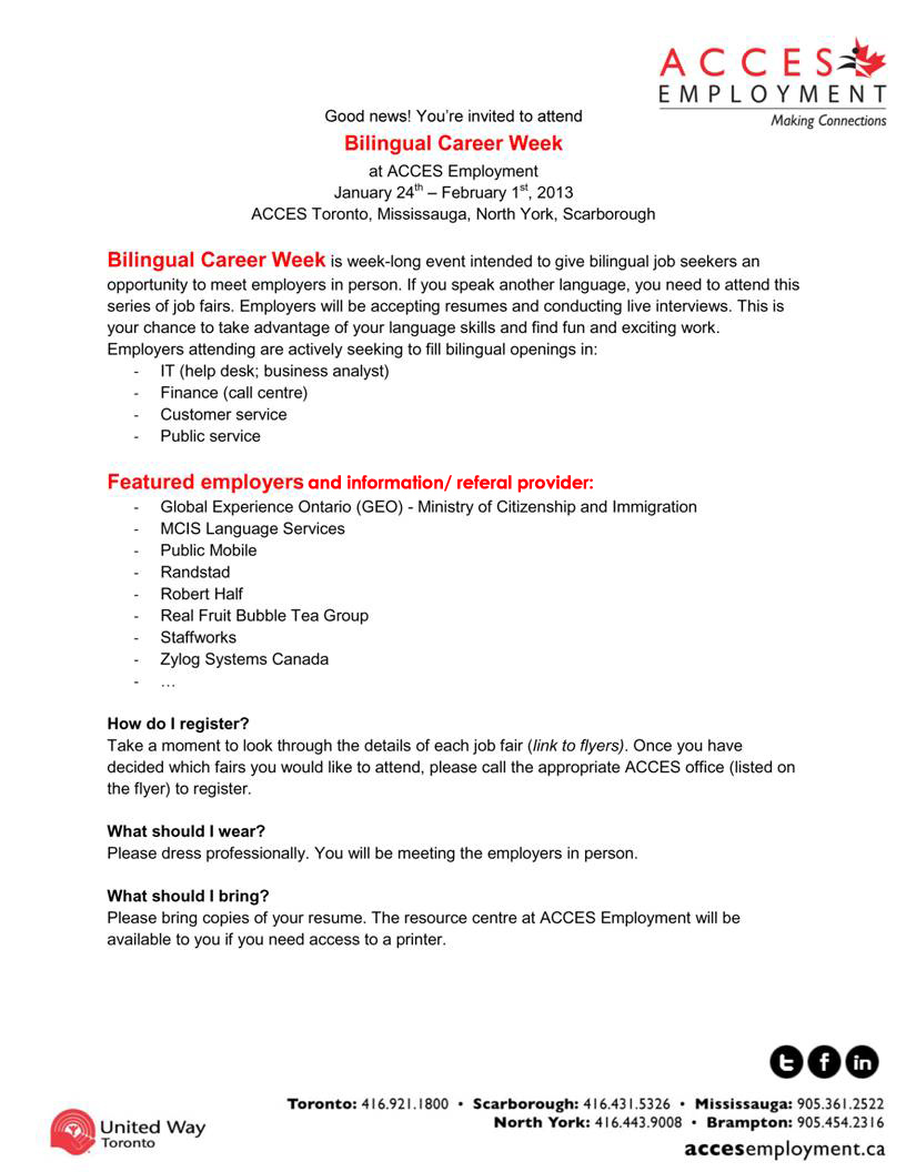 bilingual spanish cover letter