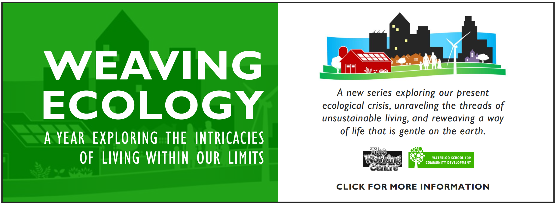 Weaving Ecology | A year exploring the intricacies of living within our limits
